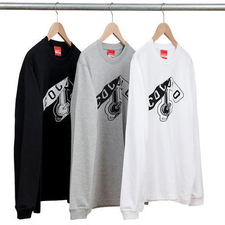 PEEL OFF BONG L/S (BLACK)