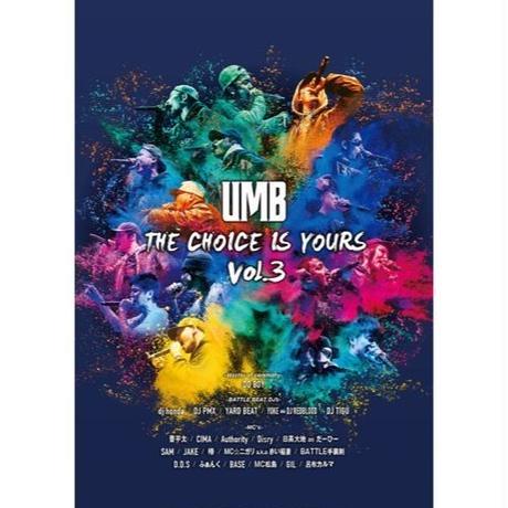 取り寄せ - ULTIMATE MC BATTLE 2019 THE CHOICE IS YOURS VOL.3 [DVD]