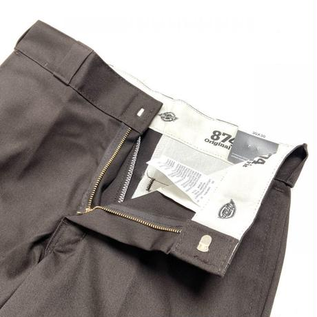 Dickies 874 ORIGINAL FIT WORK PANTS -BROWN-
