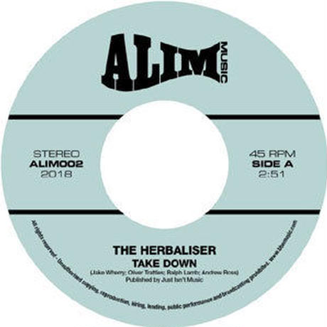 THE HERBALISER - TAKE DOWN / SOME THINGS [7inch]