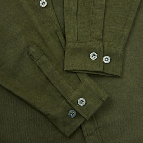 DAX FLANNEL SHIRTS (OLIVE)