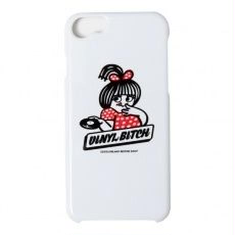 VINYL BITCH HOT WAX iPHONE CASE (WHITE)
