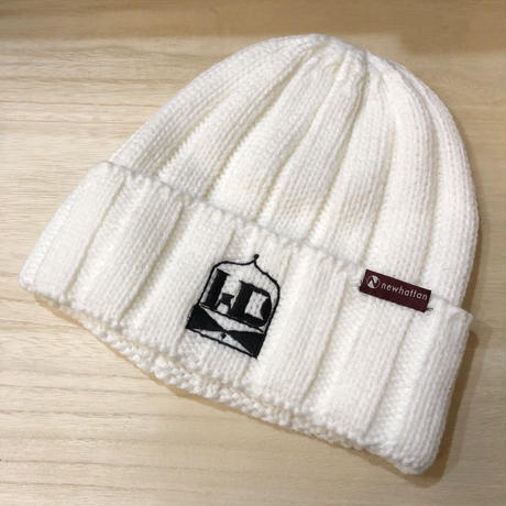 WDsounds knit cap(white)