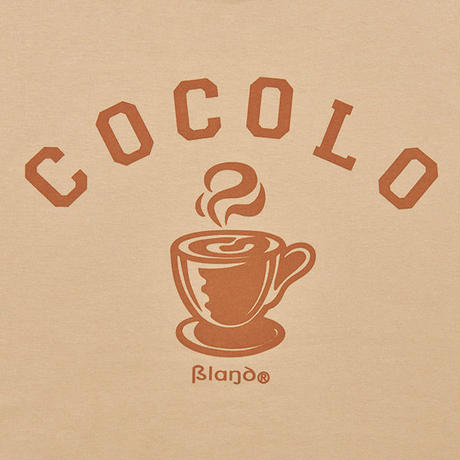HOT COFFEE S/S TEE (BEIGE)