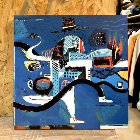 nona against the machine canvas art / 「Notice」