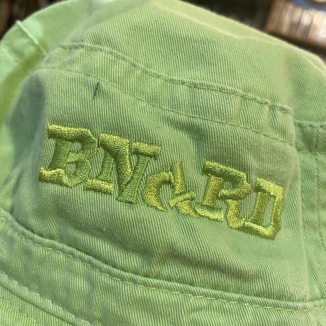 BNGRD pigment dye BACKET HAT (KIWI)