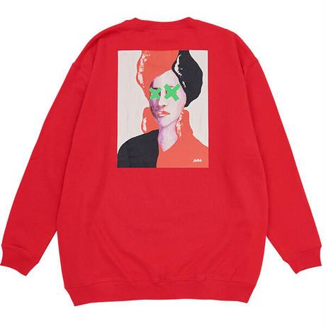 AURA CREWNECK(RED)