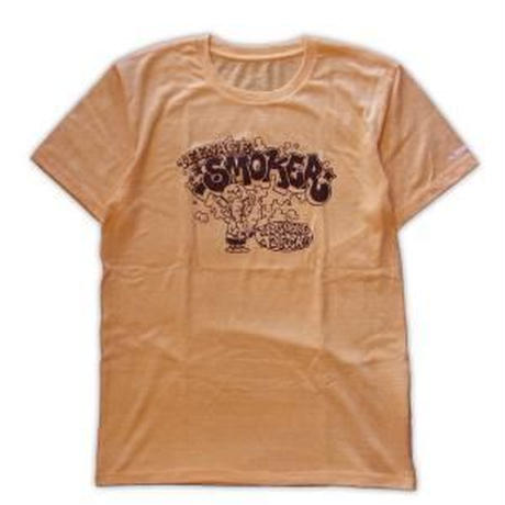 ROLLERS / TEENAGE SMOKER S/S Tee . Authentic Yellow