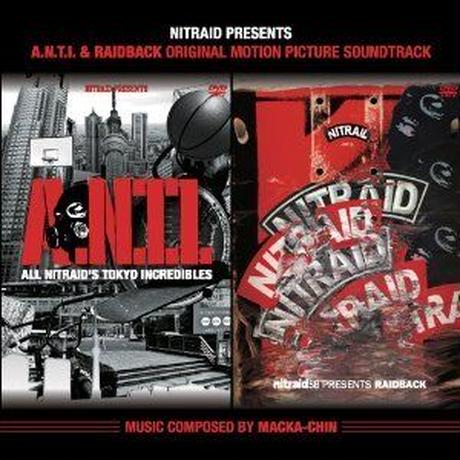MACKA-CHIN / A.N.T.I. & RAIDBACK ORIGINAL MOTION PICTURE [CD]