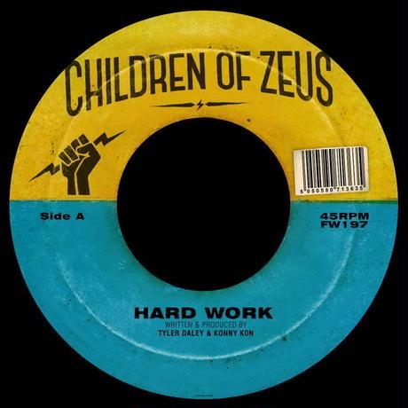 Children of Zeus / Hard Work/The Heart Beat, Pt. 2 [7inch]