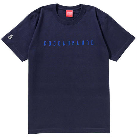 EMBROIDERY HEAVY S/S TEE (NAVY)