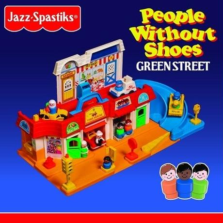 9月下旬 - Jazz Spastiks & People Without Shoes / Green Street (Color Vinyl) [2LP]