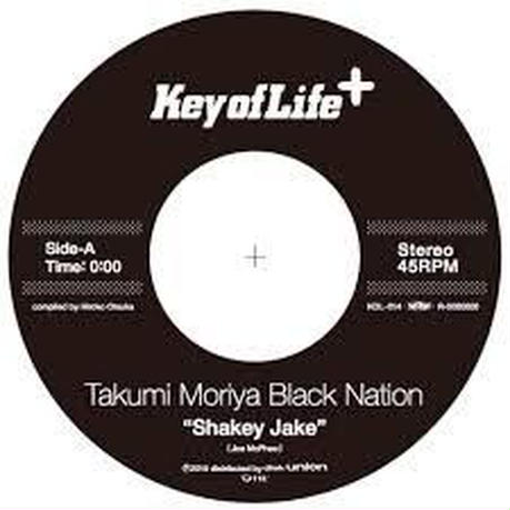 Takumi Moriya Black Nation / Kinetic/Shakey Jake (Edit) [7INCH]