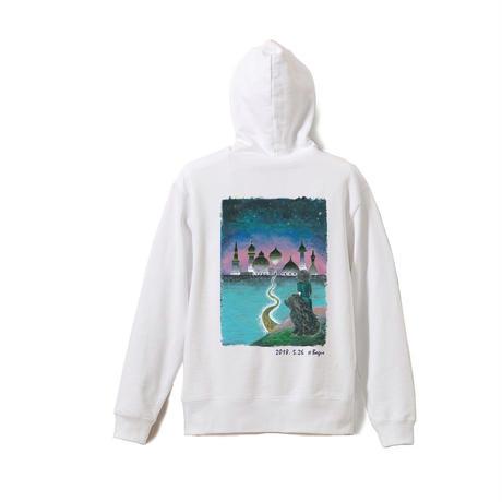 12月上旬発売 -  [2018.5/26] Bagus Hoodie (White/Pink/Indigo blue/Sand)
