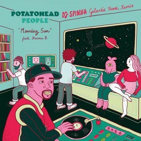 POTATOHEAD PEOPLE (Nick Wisdom + AstroLogical) / MORNING SUN (DJ SPINNA GALACTIC FUNK REMIX) [7inch]