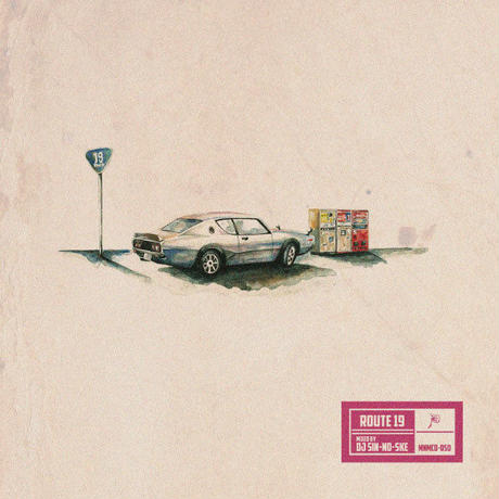 DJ SIN-NO-SKE / ROUTE 19 [MIX CD]