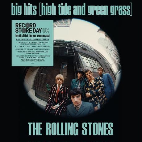 RSD2019 - ザ・ローリング・ストーンズ / ビッグ・ヒッツ(ハイ・タイド・アンド・グリーン・グラス) UKヴァージョン [LP]
