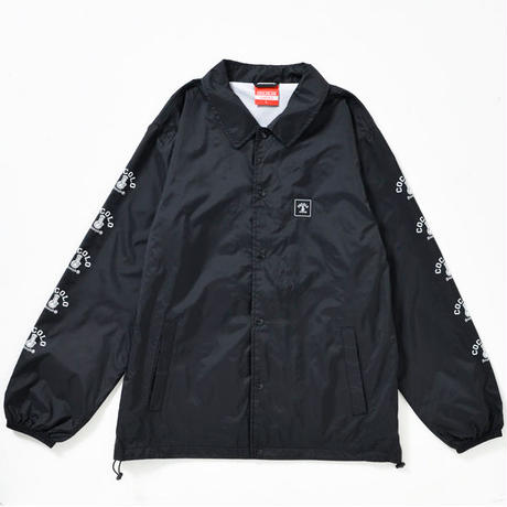 SLEEVE BONG COACH JACKET(BLACK)