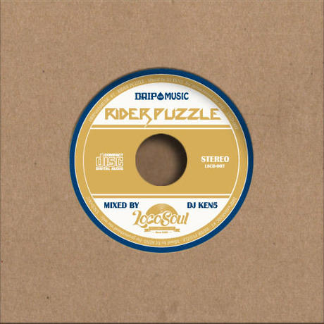 DJ KEN5 / Rider Puzzle -Dripwith Music7-   [MIX CD]