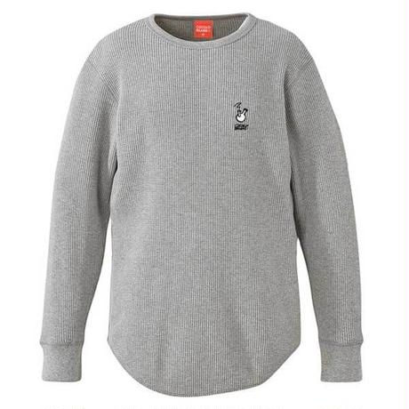 ROUGH BONG THERMAL L/S TEE (GRAY)