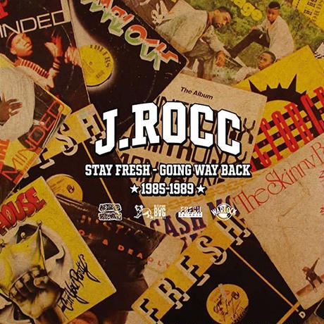 J.ROCC / STAY FRESH - GOING WAY BACK [1985-1989] [CD]