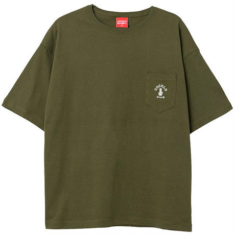 POCKET WIDE S/S (OLIVE)