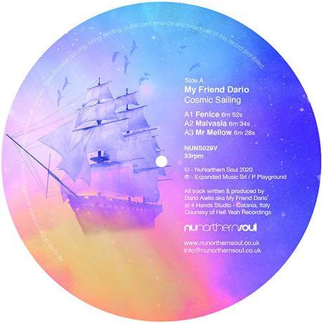予約 - My Friend Dario / Cosmic Sailing  [12inch]