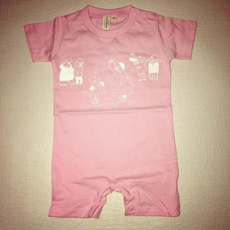 Banguard Baby rompers(pink)