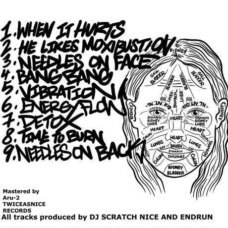DJ SCRATCH NICE & ENDRUN / Acupuncture Instrumentals [CD-R]
