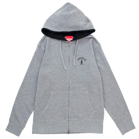 BACK BONG ZIP PARKA (GREY)