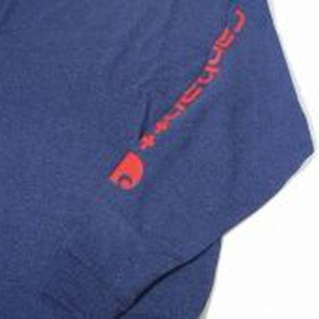 Carhartt K231 Graphic Logo Long Sleeve T-Shirts -DARK COBALT BLUE-