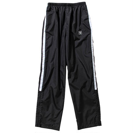 VERTICAL LOGO NYLON PANTS(BLACK)