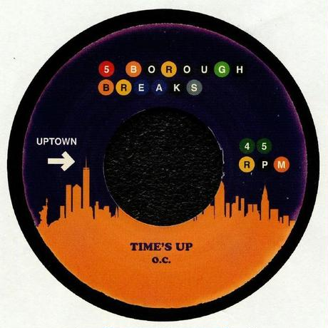 O.C. / LES DEMERLE - TIME'S UP / A DAY IN THE LIFE [7inch]
