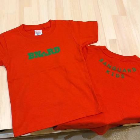 BNGRD KIDS Tee (deep orange)