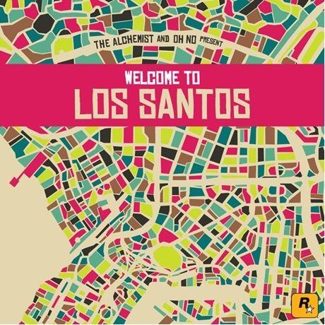 V.A. (ALCHEMIST & OH NO PRESENT) / WELCOME TO LOS SANTOS [2LP]