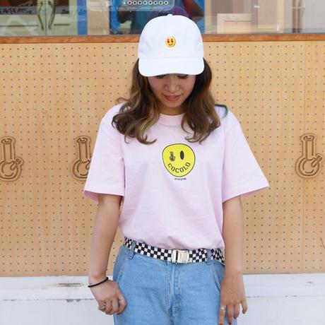 SMILEY BONG TEE (Lt-PINK)