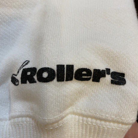 Rollers  Re××Le CREW NECK(white)