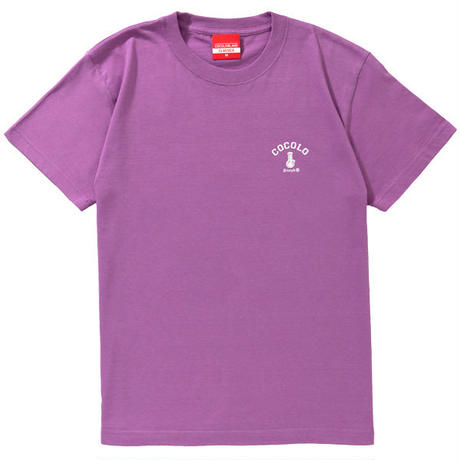 3COLOR BACK BONG S/S TEE (LAVENDER)