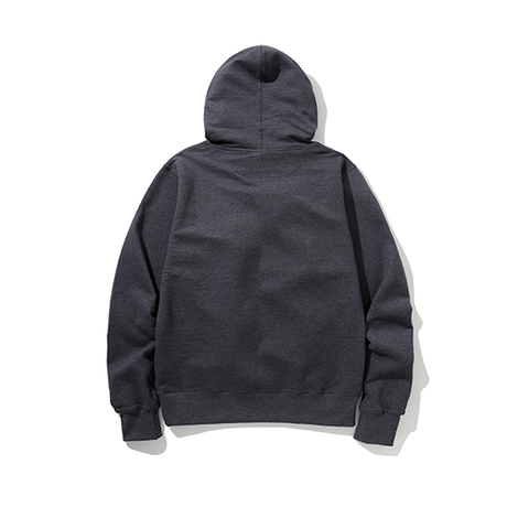 Champion / Power Blend Pullover Hoodie -Charcoal-