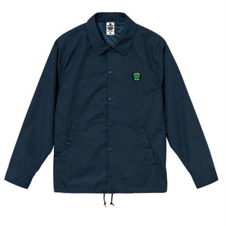 BLACKSMOKERS coach jacket (NAVY)