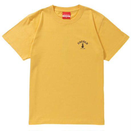 3COLOR BACK BONG S/S TEE (BANANA)