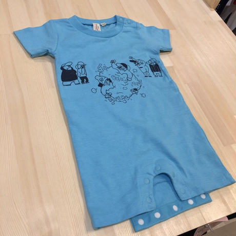 Banguard Baby rompers(aqua blue)