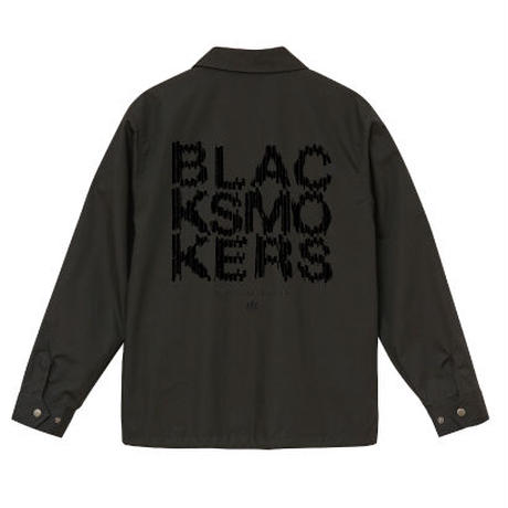 BLACKSMOKERS coach jacket (BLACK)