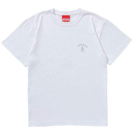 SILVER BACK BONG S/S TEE (WHITE)