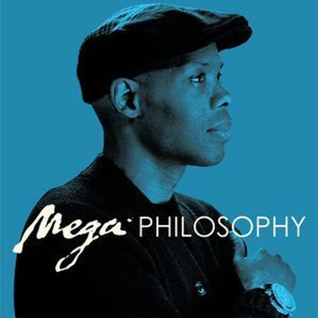 10月上旬入荷予定 - CORMEGA x LARGE PROFESSOR / MEGA PHILOSOPHY (BLUE VINYL) [LP]