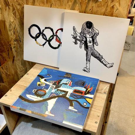 nona against the machine canvas art / 「Neo Tokyo 」