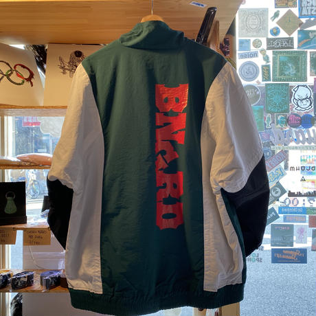 BNGRD Nylon track jacket (GREEN)