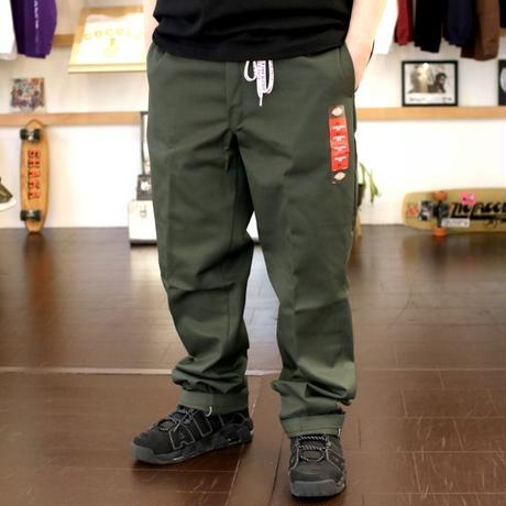 #556 WORK PANTS (OLIVE GREEN)