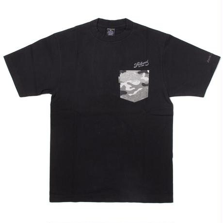 BACK CHANNEL × PRILLMAL TOKER CAMO POCKET T(black)