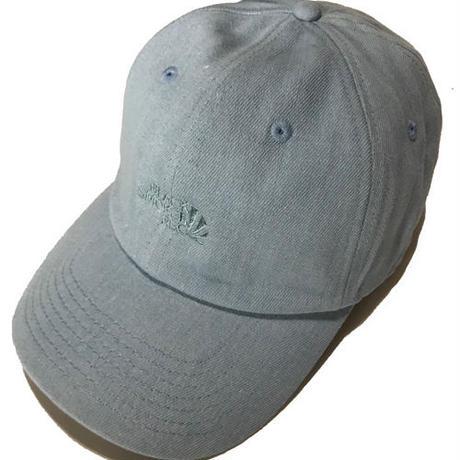 BLACKFACE / BENTBRIM CAP (WASH BLUE&RIGHT BLUE)